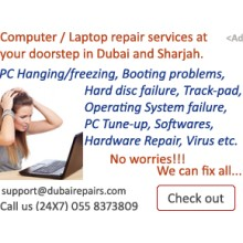 Laptop repair in dubai and sharjah UAE