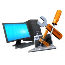 Laptop repair fix service and IT support in Dubai Emaar Business Park